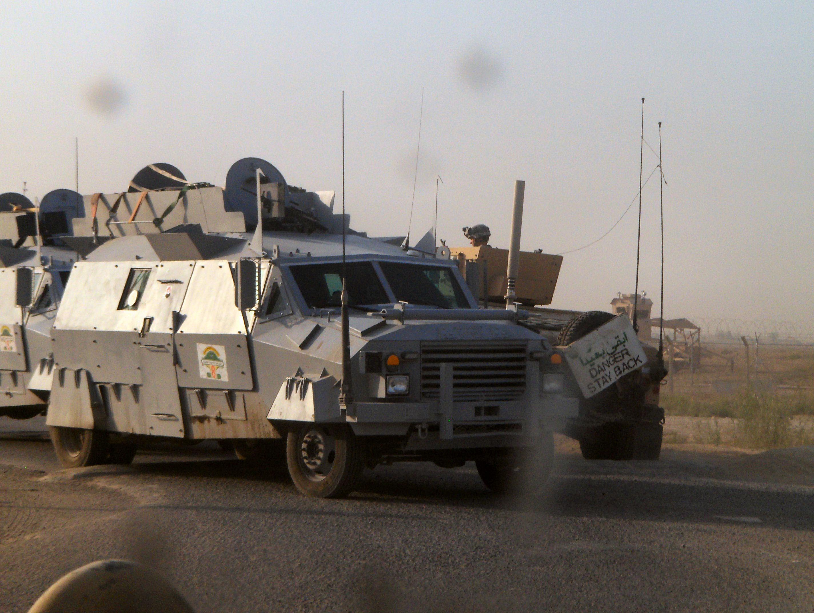 Iraqi army vehicles page 3