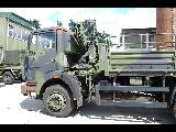 MB 1017A with HIAB Crane